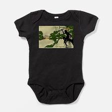 Cute Fantasy science fiction Baby Bodysuit