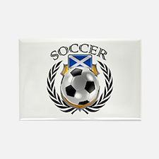 Scotland Soccer Fan Magnets