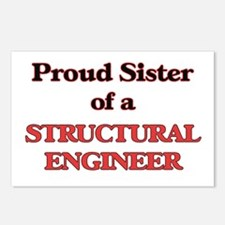 Proud Sister of a Structu Postcards (Package of 8)