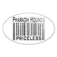 Pharaoh Hound Dog Lover Owner Oval Decal