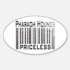 Pharaoh Hound Dog Lover Owner Oval Decal