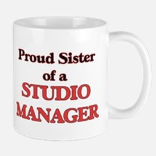 Proud Sister of a Studio Manager Mugs