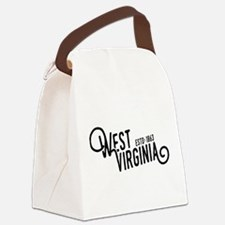 West Virginia Canvas Lunch Bag