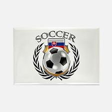 Slovakia Soccer Fan Magnets