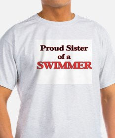 Proud Sister of a Swimmer T-Shirt