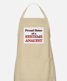 Proud Sister of a Systems Analyst Apron