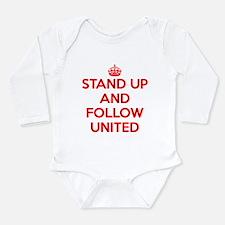Cute Manchester Long Sleeve Infant Bodysuit