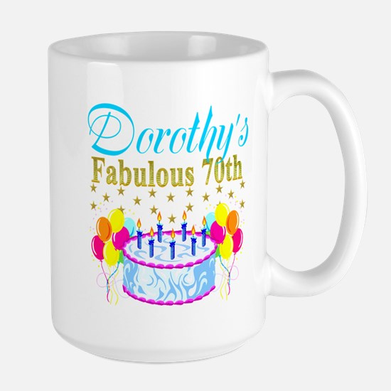 CUSTOM 70TH Large Mug