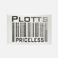 Plott Dog Owner Lover Rectangle Magnet (100 pack)