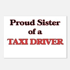 Proud Sister of a Taxi Dr Postcards (Package of 8)
