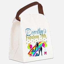 CUSTOM 70TH Canvas Lunch Bag