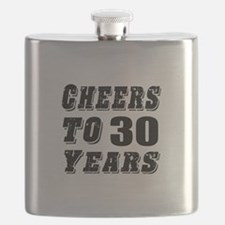 Cheers To 30 Flask