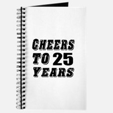 Cheers To 25 Journal