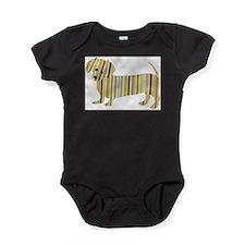 Funny Weiner Baby Bodysuit