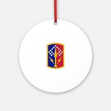 174 Brigade Logo Round Ornament