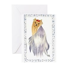 Unique Terrier birthday Greeting Cards (Pk of 20)