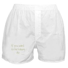 If you want to be happy, be Boxer Shorts