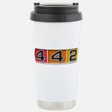 Cute Oldsmobile 4 4 2 Travel Mug