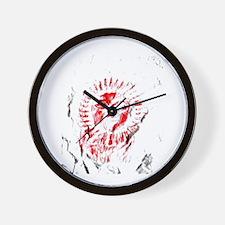 red sun 1 Wall Clock