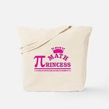 Math Princess Tote Bag