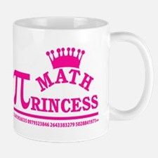 Math Princess Mugs