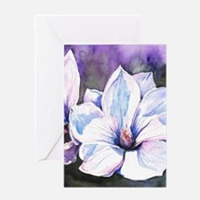 Magnolia Painting Greeting Cards