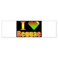 reggae Bumper Bumper Sticker