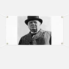 Winston Churchill Banner
