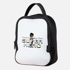 Be Own Superhero Neoprene Lunch Bag