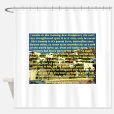 Big Puzzle of Life Shower Curtain