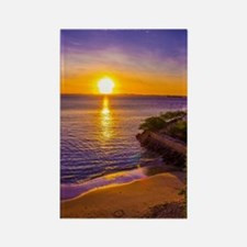 Funny Hawaii sunset Rectangle Magnet