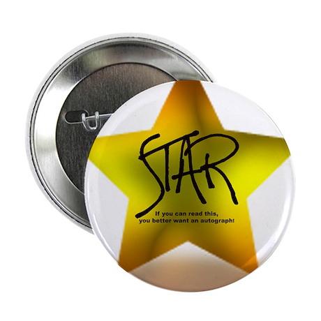"Star Autograph 2.25"" Button (100 pack)"