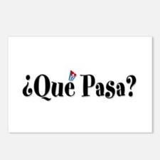Que Pasa Postcards (Package of 8)