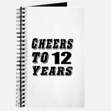 Cheers To 12 Journal