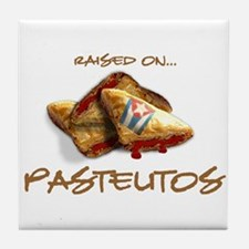 Raised on... Pastelitos Tile Coaster