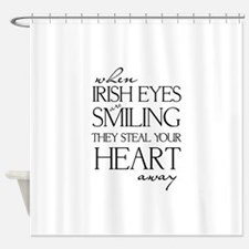 IRISH EYES Shower Curtain