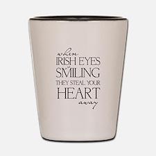 IRISH EYES Shot Glass