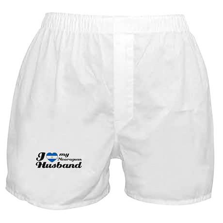 I love my Nicaraguan Husband Boxer Shorts
