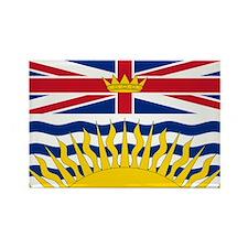 BC Flag Rectangle Magnet