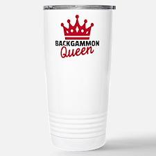 Backgammon Queen Travel Mug