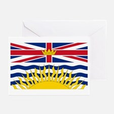 BC Flag Greeting Cards (Pk of 20)