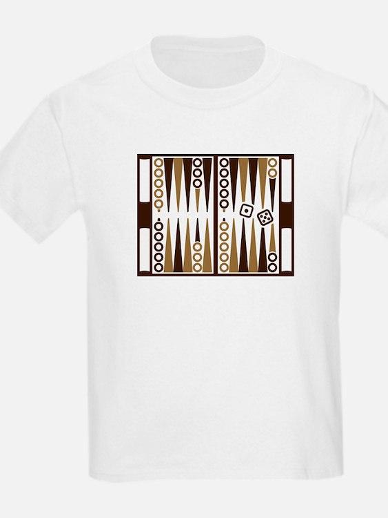 Backgammon board T-Shirt