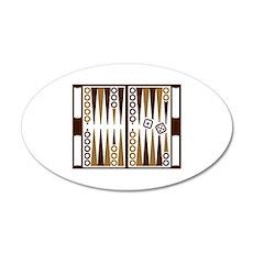 Backgammon board Wall Sticker