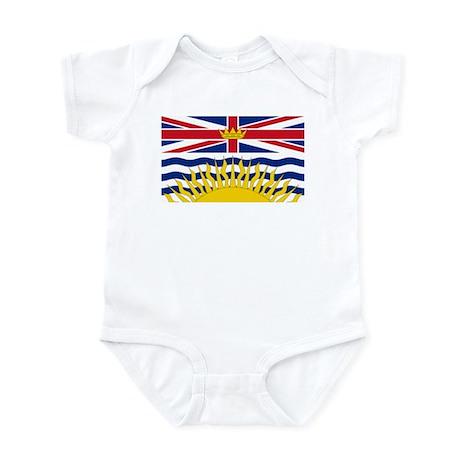 BC Flag Infant Bodysuit