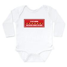 Cute About Long Sleeve Infant Bodysuit