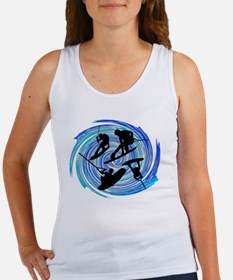 Cute Wakeboard Women's Tank Top