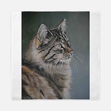 Unique Maine cat Queen Duvet