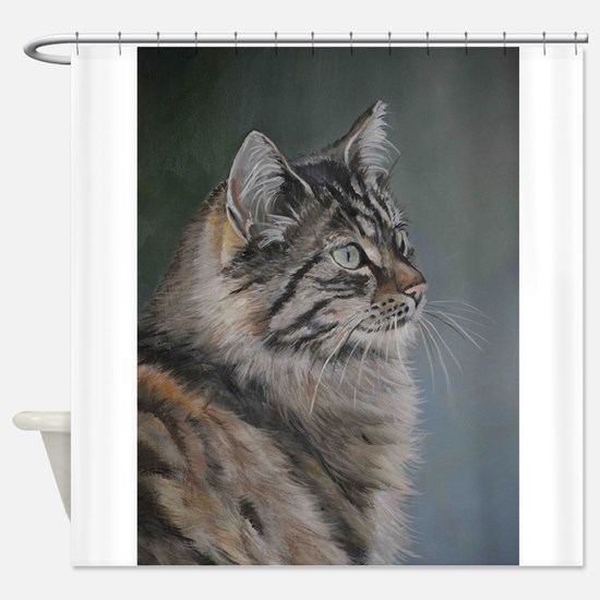 Funny Long Shower Curtain