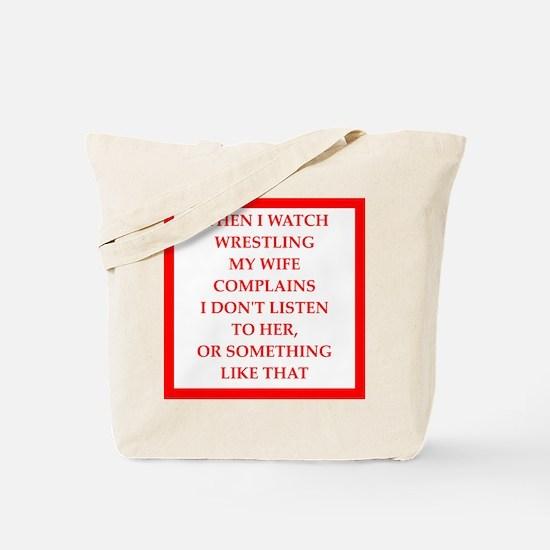 marriage joke Tote Bag