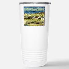 Big Puzzle of Life Travel Mug